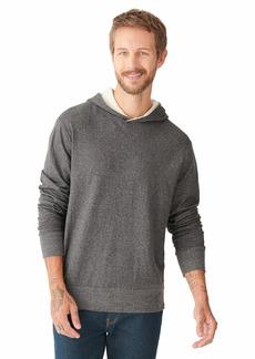 Lucky Brand Men's Long Sleeve Double Knit Hoodie Sweatshirt  XL