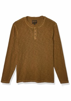 Lucky Brand Men's Long Sleeve Henley Shirt  XXL