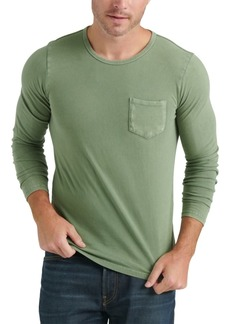 Lucky Brand Men's Long-Sleeve Pocket T-Shirt