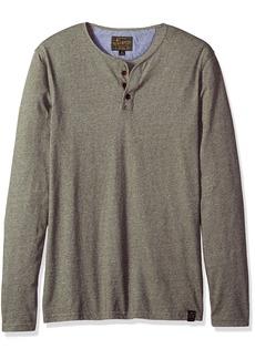 Lucky Brand Men's Long Sleeve Y Neck T Shirt  XXL