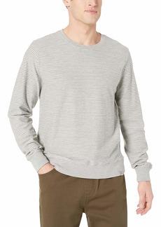 Lucky Brand Men's Loop Terry Stripe Sweatshirt  XL