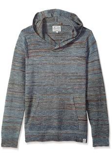 Lucky Brand Men's Los Cabos Baja Pullover Hooded Sweatshirt  M