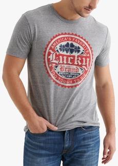 Lucky Brand Men's Lucky Circles Logo Graphic T-Shirt