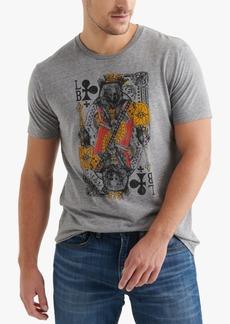 Lucky Brand Men's Lucky King Logo Graphic T-Shirt
