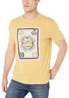 Lucky Brand Men's Lucky Poker Card TEE  M