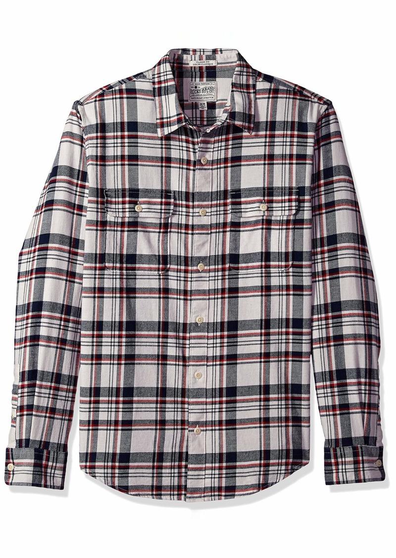 Lucky Brand Men's Mason Workwear Button UP Shirt  M