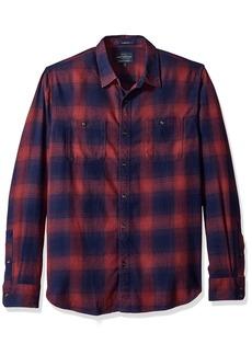 Lucky Brand Men's Mason Workwear Button Up Shirt  XL
