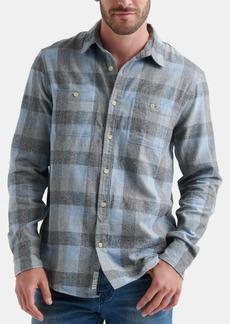 Lucky Brand Men's Mason Workwear Plaid Shirt