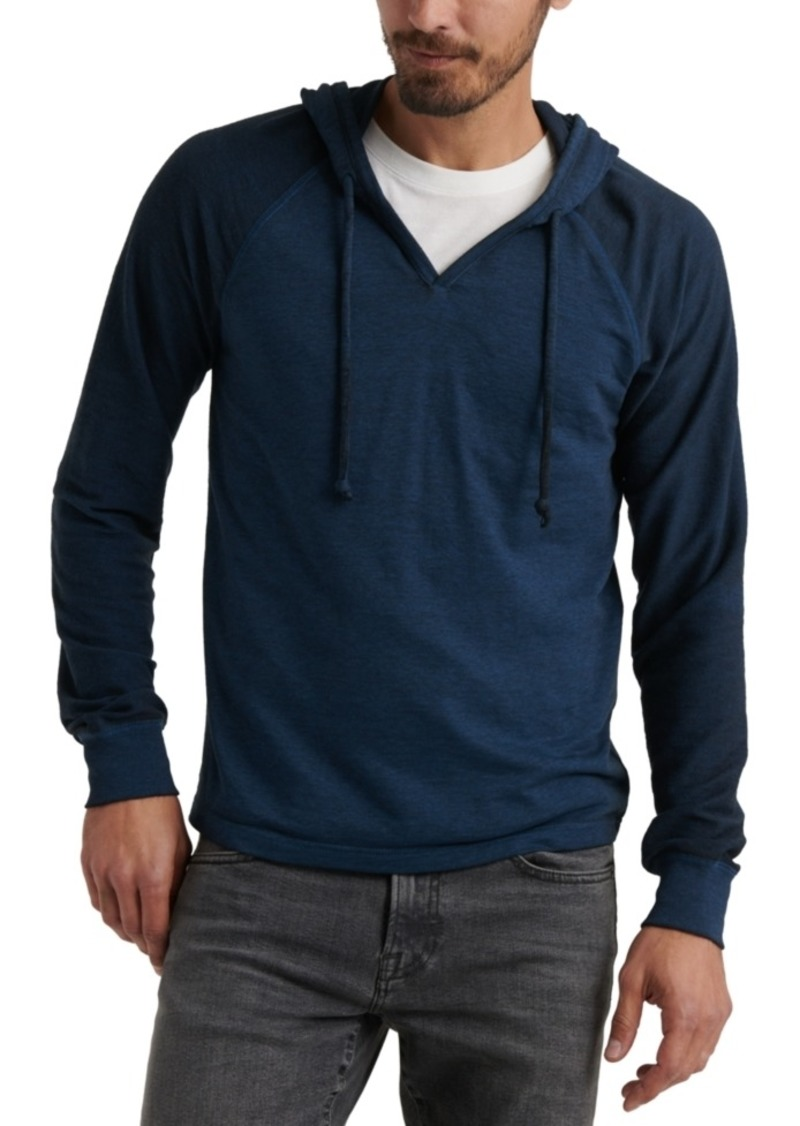 Lucky Brand Men's Micro Fleece Terry Hoodie