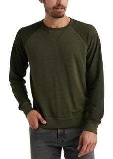 Lucky Brand Men's Micro Fleece Terry Sweatshirt