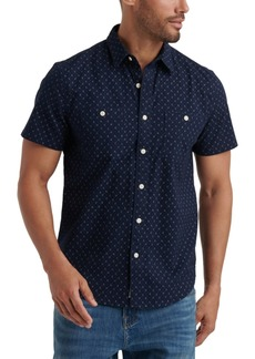 Lucky Brand Men's Micro Print Shirt