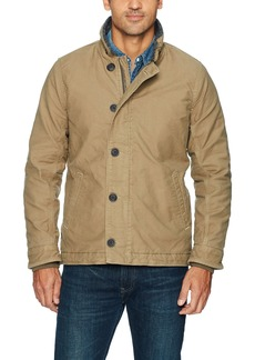 Lucky Brand Men's Military Deck Jacket  M