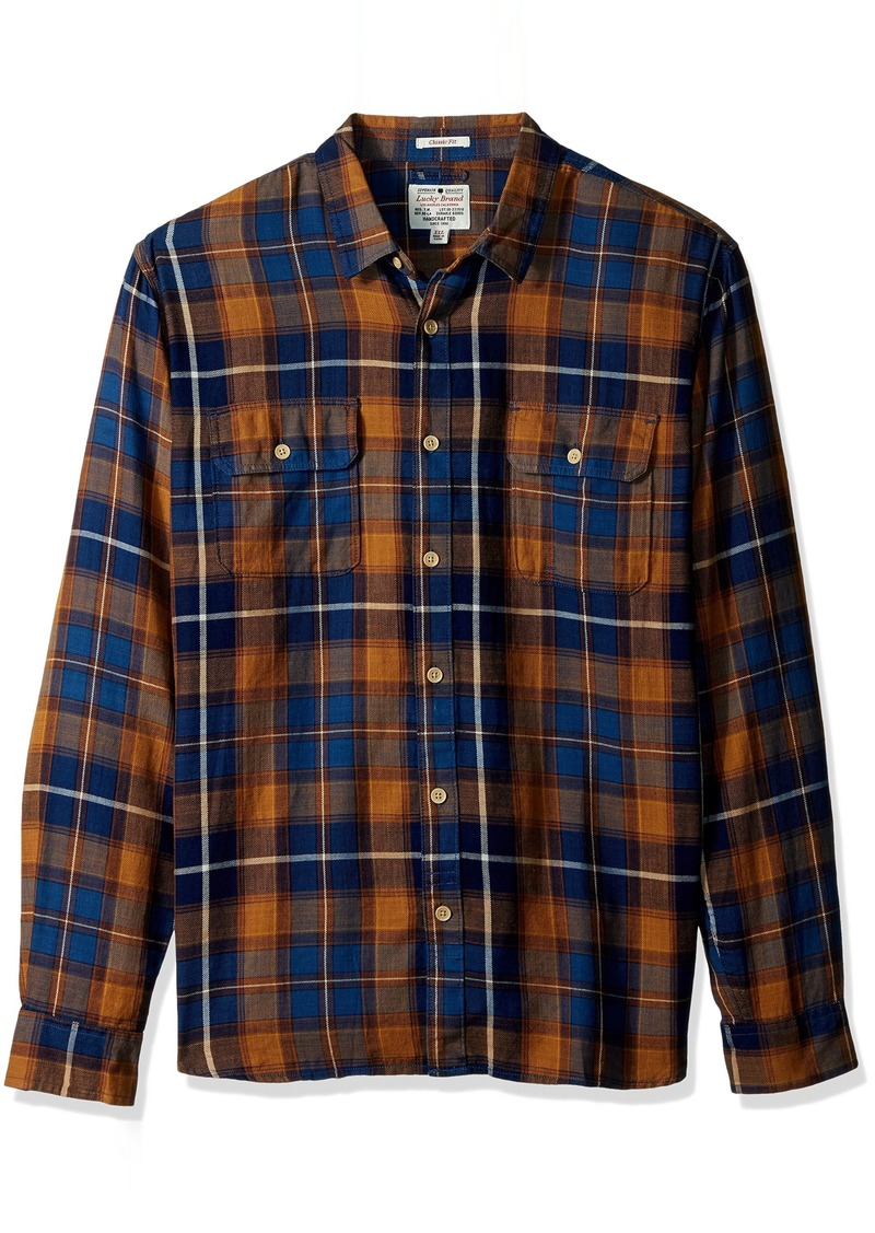 Lucky Brand Men's Miter Workwear Shirt