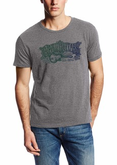 Lucky Brand Men's Nashville Guitar Graphic TEE  L