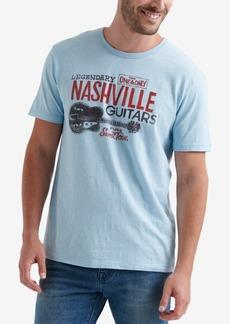 Lucky Brand Men's Nashville Guitars Graphic T-Shirt