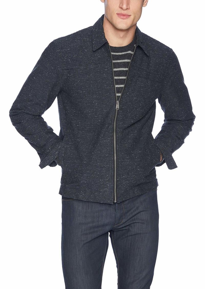 Lucky Brand Men's NEP Zip Front Jacket  S