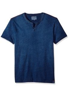 Lucky Brand Men's Notch Neck TEE Shirt  XL