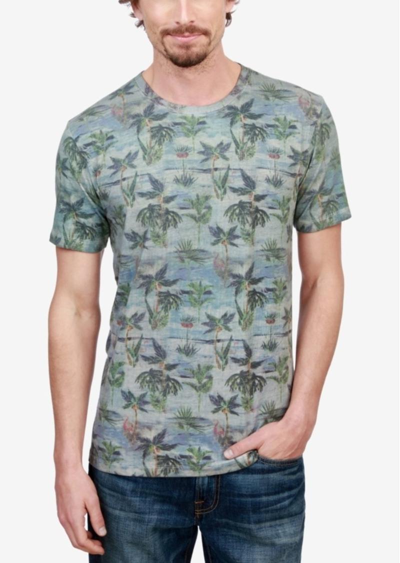 b090a499 Lucky Brand Lucky Brand Men's Novelty Palm Tree-Print T-Shirt | T Shirts