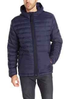 Lucky Brand Men's Nylon Hooded Jacket