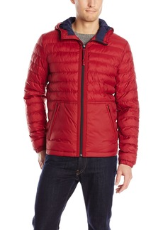 Lucky Brand Men's Nylon Hooded Jacket