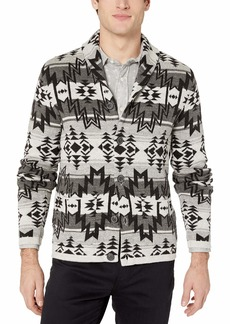 Lucky Brand Men's Ombre Shawl Cardigan Sweater  XXL