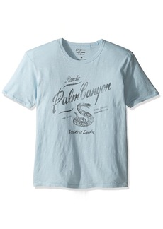Lucky Brand Men's Palm Canyon Graphic Tee