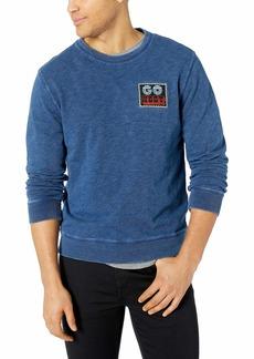 Lucky Brand Men's  Patch Crew Neck Sweatshirt S