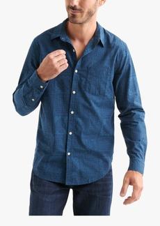 Lucky Brand Men's Patterned Pocket Shirt