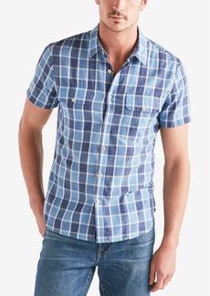 Lucky Brand Men's Plaid Shop Shirt