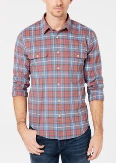 Lucky Brand Men's Plaid Utility Shirt