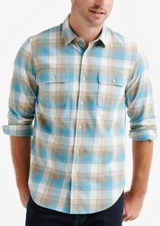 Lucky Brand Men's Plaid Workwear Shirt