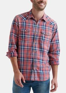 Lucky Brand Men's Plaid Woven Shirt