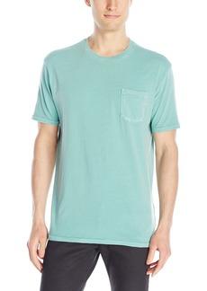 Lucky Brand Men's Pocket Crew-Neck Shirt  Large
