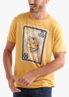 Lucky Brand Men's Poker Card Graphic T-Shirt