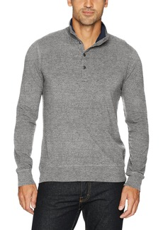 Lucky Brand Men's Popover Mock Neck Shirt