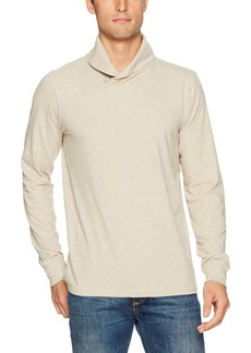 Lucky Brand Men's Popover Shawl Neck Shirt
