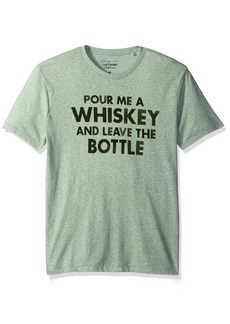 Lucky Brand Men's Pour a Whiskey Graphic Tee