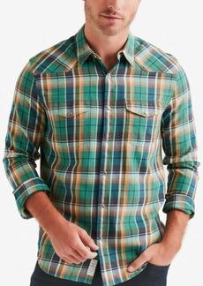 Lucky Brand Men's Regular Fit Dual Pocket Plaid Shirt