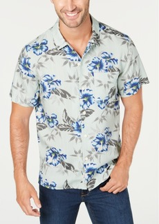 Lucky Brand Men's Regular-Fit Floral-Print Shirt