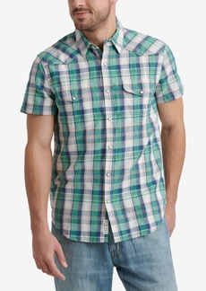 Lucky Brand Men's Regular-Fit Plaid Shirt