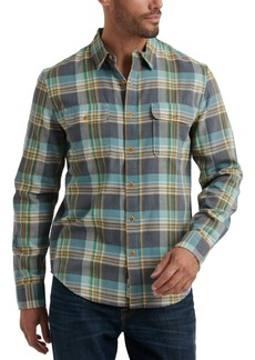 Lucky Brand Men's Regular-Fit Plaid Twin Shirt