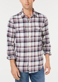 Lucky Brand Men's Regular-Fit Plaid Utility Shirt