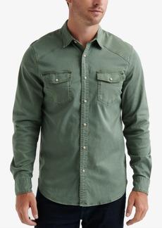 Lucky Brand Men's Regular-Fit Western Workwear Shirt