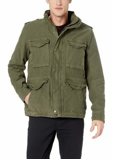 Lucky Brand Men's Removeable Sherpa Jacket  XL