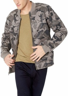 Lucky Brand Men's Reversible CAMO Bomer Jacket  M