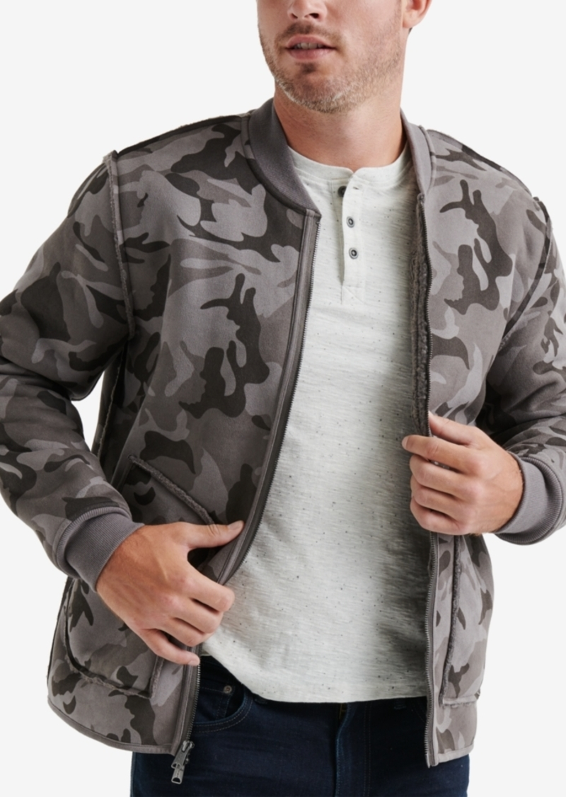 Lucky Brand Lucky Brand Men S Reversible Camouflage Faux Shearling
