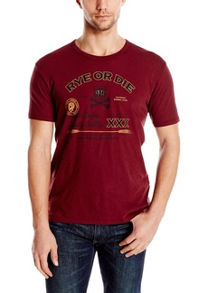 Lucky Brand Men's Rye OR Die Graphic Tee