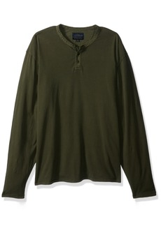 Lucky Brand Men's Saturday Stretch Henley Shirt  S
