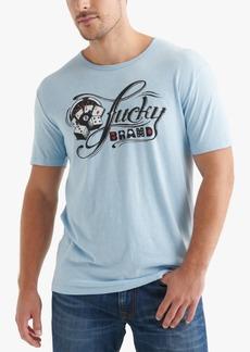 Lucky Brand Men's Script Logo Graphic T-Shirt