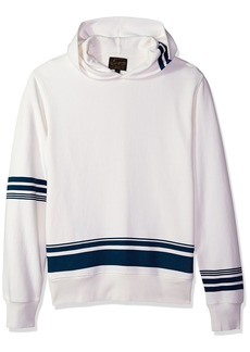 Lucky Brand Men's Seaside Hooded Pullover Sweatshirt  L